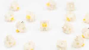 Gateron milky Yellow